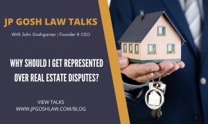Why should I get represented over real estate disputes for Coral Springs, Florida Citizens?