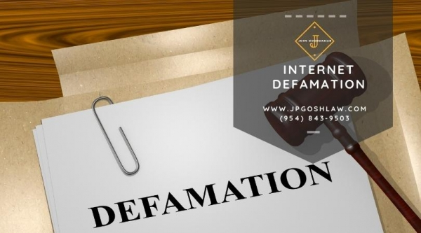 Plantation Internet Defamation